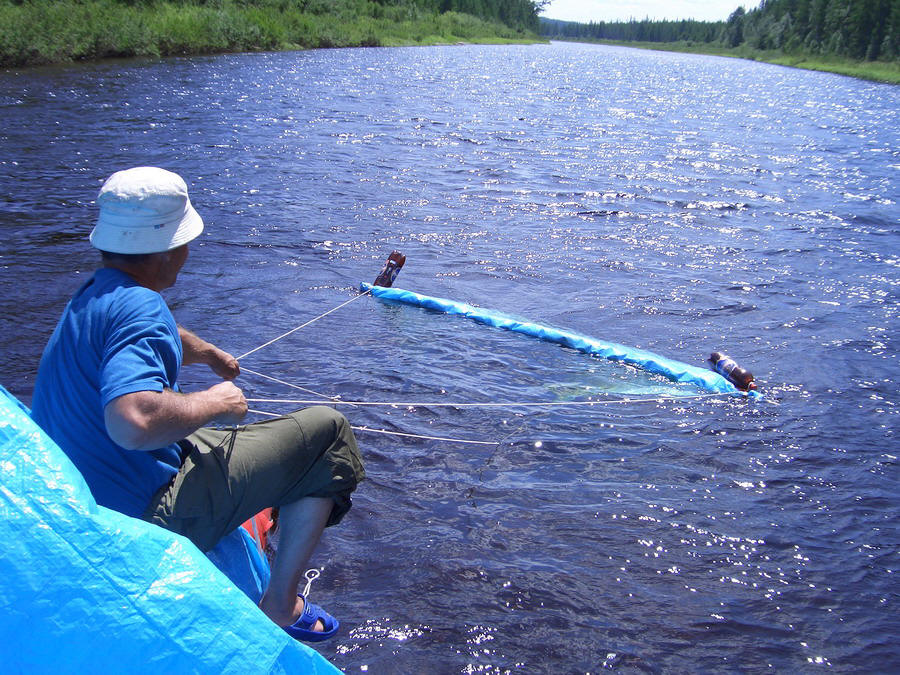 как сделать водный парус для лодки